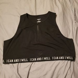 Torrid Active zippered Sports Bra sz 5 NWOT